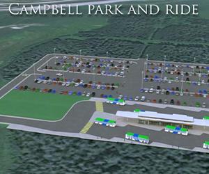 Campbell Park & Ride Transit Station 2